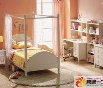 儿童房间板材家具布置效果图