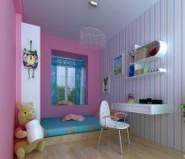 田园风格家装40平米一室一厅装饰设计效果图欣赏