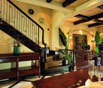 二|三别墅楼梯扶手装修效果图欣赏