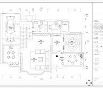 龙田别墅300平米别墅平面图