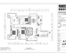 和信广场184平米四居室平面图