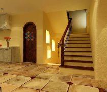 二|三折室内楼梯扶手图