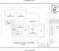 景田小区85平米三居室平面图
