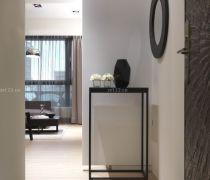 后现代风格进门选择白色墙面设计效果图
