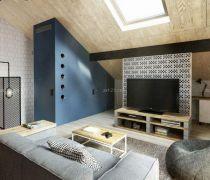 25-30平方自建房双人沙发设计图