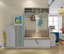 最新20-30平米小户型折叠家具玄关隔断图片