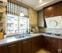 30平米一室一厅简约风格厨柜装修图片