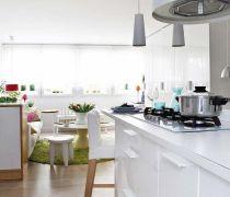 2020一室一厅简约风格厨柜装修效果图欣赏