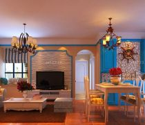 最奢华的二室两厅装修效果图