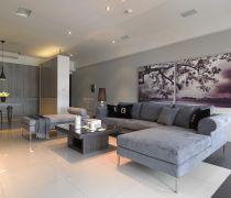 家庭室内客厅风水画装修样板房