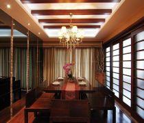 饭厅生态木吊顶设计图