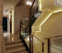 经典家用二|三折楼梯装修设计图