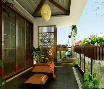 阳台花园榻榻米设计图