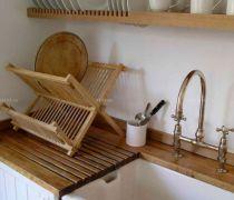 厨房用品实木置物架图片大全