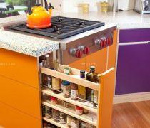 创意现代厨房用品置物架装修价效果图