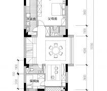 简单大方农村小型别墅户型图