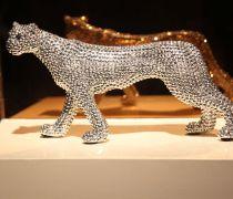时尚个性创意家居饰品钻石豹