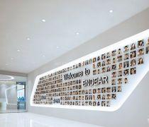 装饰公司形象墙装饰效果图