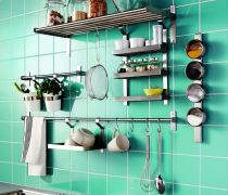 厨房储物架装修案例大全