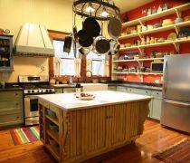 厨房储物架装修效果图片