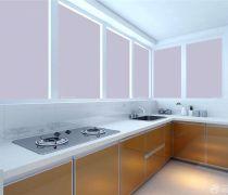 厨房多个窗口设计图