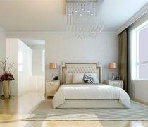 卧室不吊顶天花板设计图