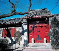 现代北京四合院大门效果图欣赏