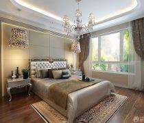 2020新古典风格卧室床头吊灯设计效果图