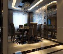 客厅黑色过门石设计图