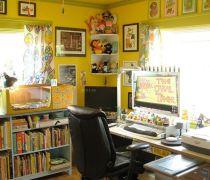 20-30平米小户型书房装饰设计图