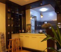 20-30平米小户型厨房吧台设计图