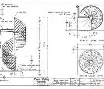 最新详细楼梯平面图