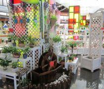 小盆栽饰品店货架设计