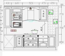 厨房吊柜橱柜设计图纸大全