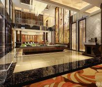 新中式风格楼盘模型设计