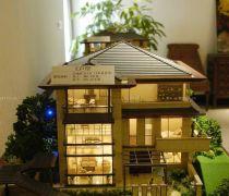 东南亚风格楼盘模型设计图片
