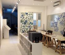 瓷砖店面物品展示设计效果图