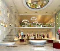 2020欧式品牌服装店装修图片欣赏