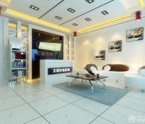 现代风格咨询公司背景墙设计效果图