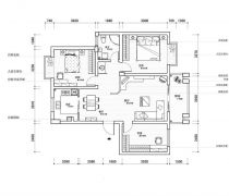50-80小户型两室变三室图