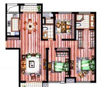50-80小两居室户型图