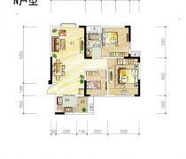 50-80小户型两室变三室设计图