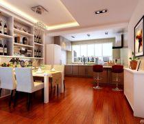 80-90平米开放式厨房设计效果图
