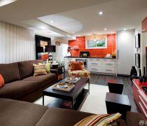 个性50-60平米小户型装修开放式厨房设计