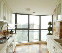 最新80-90平方米房屋家庭厨房设计图片