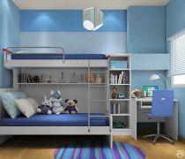 70平米旧房翻新可爱儿童房间装修图片大全