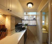 70平米旧房翻新厨房装修设计图