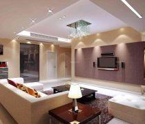 70-80平米房屋大客厅装修设计图