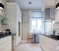 70-80平米房屋厨房装修设计图片