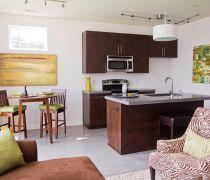 70-80平米小户型房屋开放式厨房装修设计图